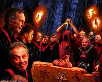 Take a good look, at who is in this picture of truth, meaning the the man of sin (Antichrist) and his hierarchy of the Yod Shadow Government. Notice the all important symbol of the Microprosposos/Macroprosposos, which was and still is well placed on the altar of all human sacrifice, which also represents King Solomon's 28th degree, known as the Knights of the Sun symbol and or the Jewish Star of David. Notice David Solomon Rockefeller/Sassoon with the NWO Pyramid, hosted around his neck, promoting the all seeing eye, note he is holding the bucket of human blood, what a eye opener Hebrew/Christian Israel http://web.mit.edu/dryfoo/www/Masonry/Reports/israel.htlm