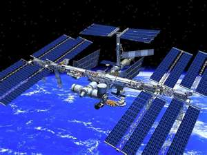International Space Station Alpha which became inhabit by USA (Magog) and USSR (Gog) in November of Y2K (Yod 2000) for the sole purpose for exaltation to the god of light and reflections known secretly as the Masonic worlds Microprosposos/Macroprosposos also known as the Jewish Star of David and or as King Solomon's Quarries Seal of the 28th degree of the Knight of the Sun symbol... undoubtedly yet secretly this ISS monstrosity is known as to be the spiritual hideout of the spirits of George Washington/Lucifer's Apotheosis of the Universal Freemasonry sublime faith initiative within mankind's hearts and souls also known as George Washington/Lucifer's celestial lodge and or heaven and or GW 8 pointed Blazing Star Remphan (Acts 7:42-43) based on its own base in outer space a fulfillment of the scripture prophecy of Zechariah 5:1-11 Recall as prophesied in Isaiah 14:12-14 the spirit of Lucifer within mankind's hearts and souls would declare him Lucifer/George Washington his new age son of perdition as being as an equal unto the Most High (1 John 5:7-8 KJV only)