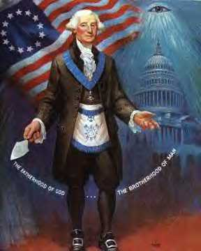 Notice the American flag in the back ground of George Washington image  displaying the 13 Circle of life Principals of sublime faith initiative from 1776. Notice how  George Washington was ordained as the Fatherhood of God and as the brotherhood of all mankind (The Apotheosis of of Universal Freemasonry sublime faith initiative) bear in mind the word apotheosis literally means to raise a person to the rank of a god and or as an icon - a Masonic christ like figure Tammuz - Santa Claus - Father X Mass for Europe Refer to Contemporary Freemasonry in the counterfeit Holy Land  Esau Israel http://web.mit.edu/dryfoo/www/Masonry/Reports/israel.html