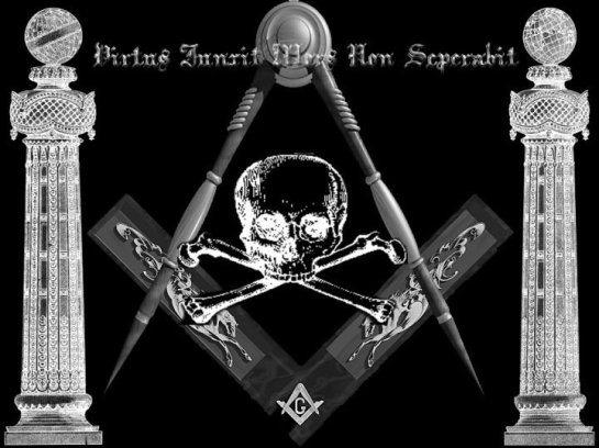"""What courage/virtue has united, death will not divide."" Refer to Contemporary Freemasonry in the counterfeit Holy Land  Esau Israel http://web.mit.edu/dryfoo/www/Masonry/Reports/israel.html"