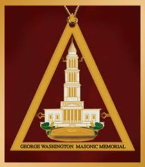George Washington's Alexandria lodge 22 with a pyramid emphasizing it as yod  H/Q