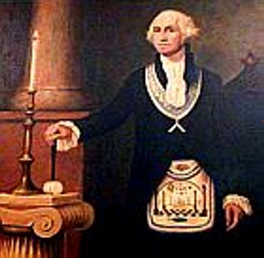George Washington ordained on the 4th of August 1753 at the young age of 21 (7+7+7) years old as The Master Mason of the Universe