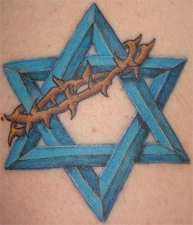 The Jewish Star of David (Dog Star with a crown of thorns) is also nicknamed as the Dog Star known as King Solomon Quarries Seal of the 28th Knights of Sun symbol symbolically meaning honor and glory to the god of light and reflections known secretly as Microprosposos/Macroprosposos