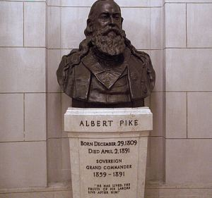 "General Albert Pike known as the Grand Supreme Pontiff of Universal Freemasonry, yet all must pay attention to the mere fact, that he was known as the NWO Antichrist Yod Shadow Government leader, who beyond  a doubt drafted a letter to his One World Yod Government leaders, on this day of the 14th of July (Tammuz) in 1889, which incidentally was 24 years, after he and both Houses of Masonic Congress, secretly declared the Apotheosis of George Washington/Lucifer as a rule of law, which was on the 10th of March 1865. What also nedds to be known about General Albert Pike, who was the blood ritual son of George Washington, who was secretly known  by the hierarchy of Universal Freemasonry as the Fatherhood of God and the Brotherhood of all mankind,  yet from behind closed Masonic doors, he  General Albert Pike was undoubtedly known, by the both Houses of Masonic Congress and obviously the hierarchy of Universal Freemasonry, as their secret 16th President of the USA. To prove the point, why do you think, they assassinated Hebrew/Christian Israel - USA President Abraham Lincoln, 36 days,after Pike and both Houses of Masonic Congress, secretly declared The Apotheosis of George Washington (Tammuz)/the spirit of Lucifer, as god and christ, which was once again on the 10th of March (Adar) 1865. What becomes interesting to President Abraham Lincoln assassination, which undoubtedly was on world taxation day,  meaning the 15th of April (Nissan - Hebrew/Christain Israel New Year) 1865, which came about when President Abraham Lincoln, would not endorse the abomination of desolation (Daniel 12:10-11 - Matthew 24:15) scripturally known from 1865, as The Apotheosis of George Washington/ Lucifer.  In other words, the honorable President Abraham Lincoln was merely,  yet cleverly treated by  both Houses of Masonic Congress as the front man President of the USA, which led to his death via their Universal Masonic mischief ritual titled as Juwes which means death by order of the black and white mosiac floor plan. But the above also proves, the point of General Albert Pike, being the from behind closed doors, as their secret 16th President of the USA. Note General Albert Pike letter in 1889 the 14th of July (Tmmuz), which once again said in writing, to His One World Yod Government leaders (who incidentally were gathered in the questionable Paris France (the P2 Die U (Yod) Murder Lodge ) that.... The doctrine of Satanism was and still is a heresy, the true and pure religion of Universal Freemasonry (Church of Nicolaitanes - 70 Ancient houses of rebellious Luciferian counterfeit Esau/Core - Cain Israel - King Solomon  Quarries) was and still is of a Luciferian doctrine and concept ... ""Yes Lucifer (George Washington) is God."" But General Albert Pike said in the next sentence of his 1889 letter.... ""Yes Adonay the God of the Hebrew/Christian Israel is also God."" But General Albert Pike went on to say Lucifer/George Washington as our Yod Godhead, also known as our Apotheosis of our Universal sublime faith initiative movement, is fighting against Adonay, for the freedom of all mankind, from the blood sacrifice of the Hebrew/Christian Israel Alpha and Omega - known scripturally as being Lord JESUS The Christ Emmanuel (Revelation 1:11) The Head Cornerstone of the Universe (Matthew 21:42)"