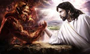 Spiritual Battle of Armageddon on the high mountain known as the Red Planet Mars (Matthew 4:10-11) - (Revelation 16:13-16) between Lord JESUS The Alpha and The Omega and Lucifer the father of lies and a murderer of Father God Almighty's spirits and souls from the foundation of the world