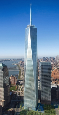 1776ft in height New World Order Freedom Tower based on ground level
