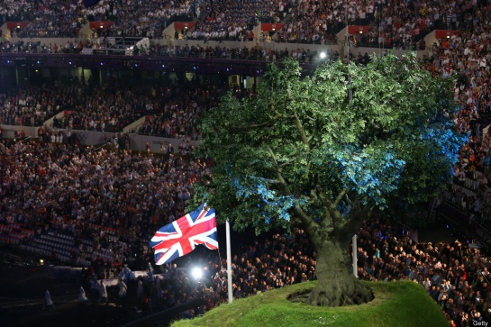 Notice how the Antichrist system cleverly displayed The Apotheosis of George Washington/Luciferian Yod tree of life as the main feature at the Greek Circle of life Olympic Games based in London UK  2012 - AL 6012 which was secretly known as Tammuz - Annuit Coeptis godhead -  also known as The Die U - Yod Tree of life for the French p2 Murder Lodge. Recall the Latin term of Annuit Coetis means in English He that is God by the undertaking of the people refer to Revelation 13:8 And all that dwell upon the earth shall worship the beast godhead of Yod