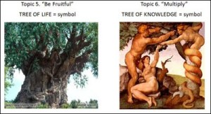 Adam and Eve were warned by Abba Father God Almighty (Genesis 2 :3-5). Do not eat of this evil serepent oroboros Luciferian/Pharaoh tree of Antichrist life