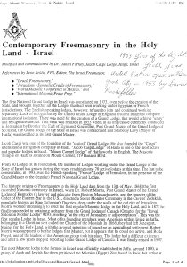 Is it not peculiar how the two Jewish Rabbi's from South Africa and Rhodesia are honored, via this Antichrist Yod Contemporary Freemasonry, which was held in the counterfeit Esau/Cain/  Core Holy Land Israel in 1953. Which was merely, during this Antichrist declaration of his Antichrist Year of the Light, which meant that he and his Jewish Rabbi's etc cleverly declared, the spirits of Lucifer- Shaharit/ George Washington (Isaiah 14:12-17) as their light bearers. Meaning the Jews who call them selves Jews yet are not Jews, but are of the synagogue Lucifer/ Satan the devil (Revelation 2:9). What needs to be understood was that these brainwashed Jews etc, call Lucifer Shaharit meaning honor to their morning star god. In other words, they the Jews (Revelation 2:9 and 3:9) who were secretly exalting the spirits of Lucifer/Shaharit/GW  as god and christ. Simply refer to Zaphaniah 1:17-18 the Antichrist system have created the spirits of George Washington/ Lucifer - Shaharit spirits, as their secret light bearers  from 1953 refer to Ezekiel 8:10-16 as vital evidence