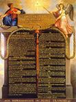 613 Jewish Torah Commandments camouflaged as declaration of human rights from 1953 known as The Year of Light from the counterfeit Holy Land Esau/Cain Israel via the hands of Billy Graham - the late Rebbi Menachen Schneerson (deceased in 1993 The Year of the Yod)