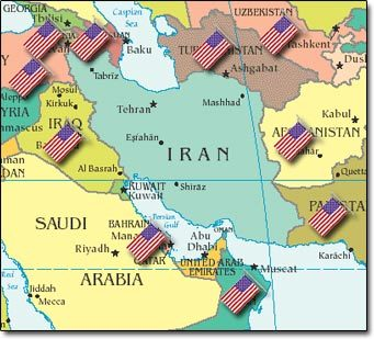 Whos Report Do You Believe HebrewChristian Israel The Report Of - Map of us bases around israel