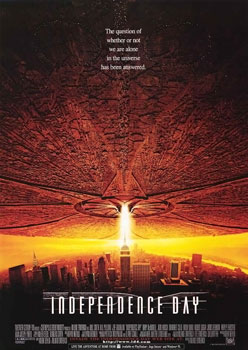 Antichrist system declared war against Almighty God cleverly titling the film Independence Day simply booked to the date of 4th of July (Tammuz GW nickname from birth 1732) 1996