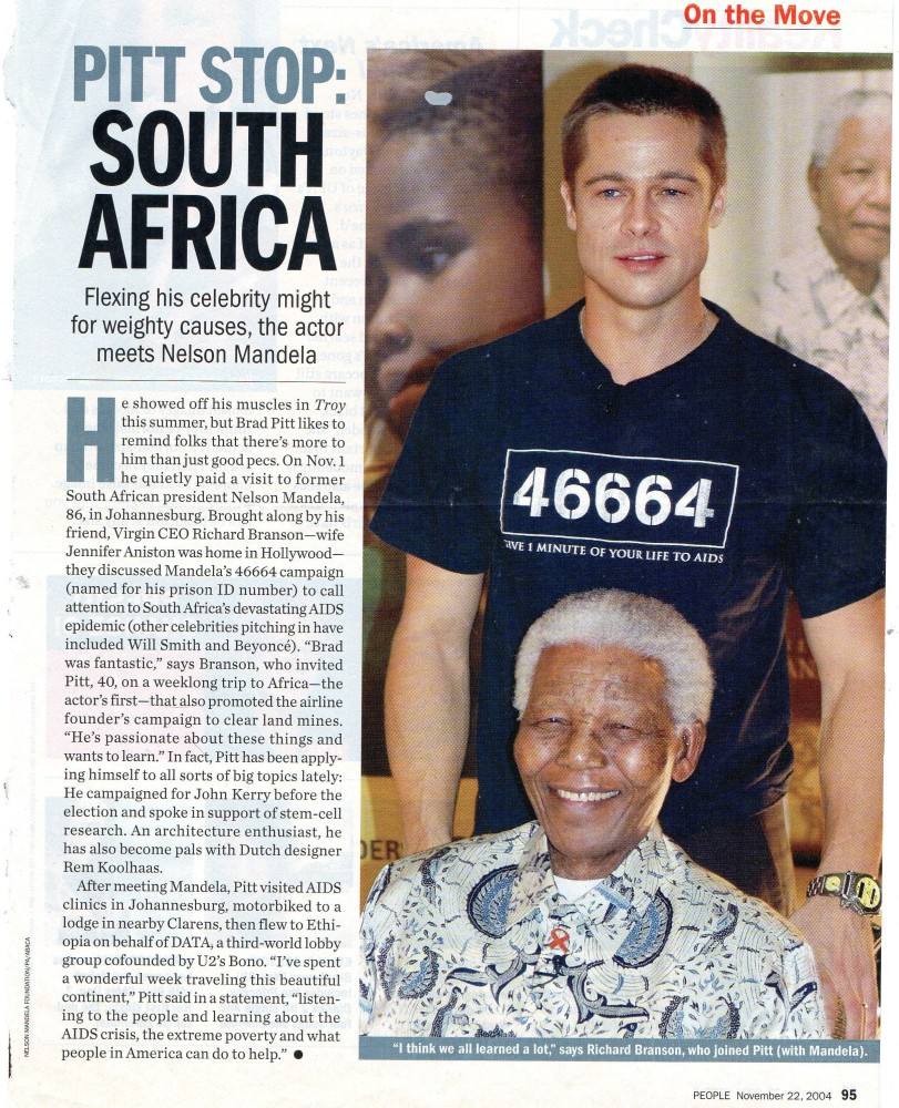Obviously there is more to Nelson Mandela death,  on the 5th of December 2013 than to what the human eye can see or intellect can understand, could it be based upon his prison number of 46664!   (2/6)