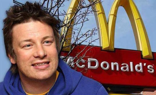 "Hamburger chef Jamie Oliver has just won a battle against one of the largest fast food chains in the world. After Oliver showed how McDonald's hamburgers are made, the franchise announced it will change its recipe. According to Oliver, the fatty parts of beef are ""washed"" in ammonium hydroxide and used in the filling of the burger. Before this process, which leads to Luciferian food poisoning (John 10:10)"