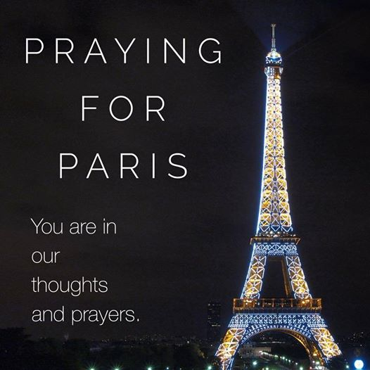 If you haven't already heard the news, there have been coordinated terrorist attacks in Paris this evening. The news is still unfolding. My heart aches for what is taking place. Please join me in sending prayers love and light to the people of Paris and beyond. Recall Paris France is called the P2 Murder Lodge a hideout for the Antichrist, (1 John 2:18) do you know the Die U French Governemnt HAS ERECTED A GRAVEN IMAGE OF BAPHOMET ON A HIGH MOUNTAIN which conveys a clear message that Lucifer is god and christ (Isaiah 14:12-14)